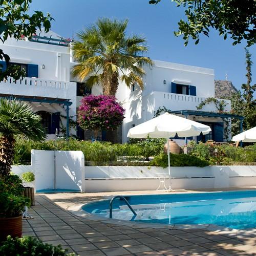 charming small hotel villa Ippocampi crete greece
